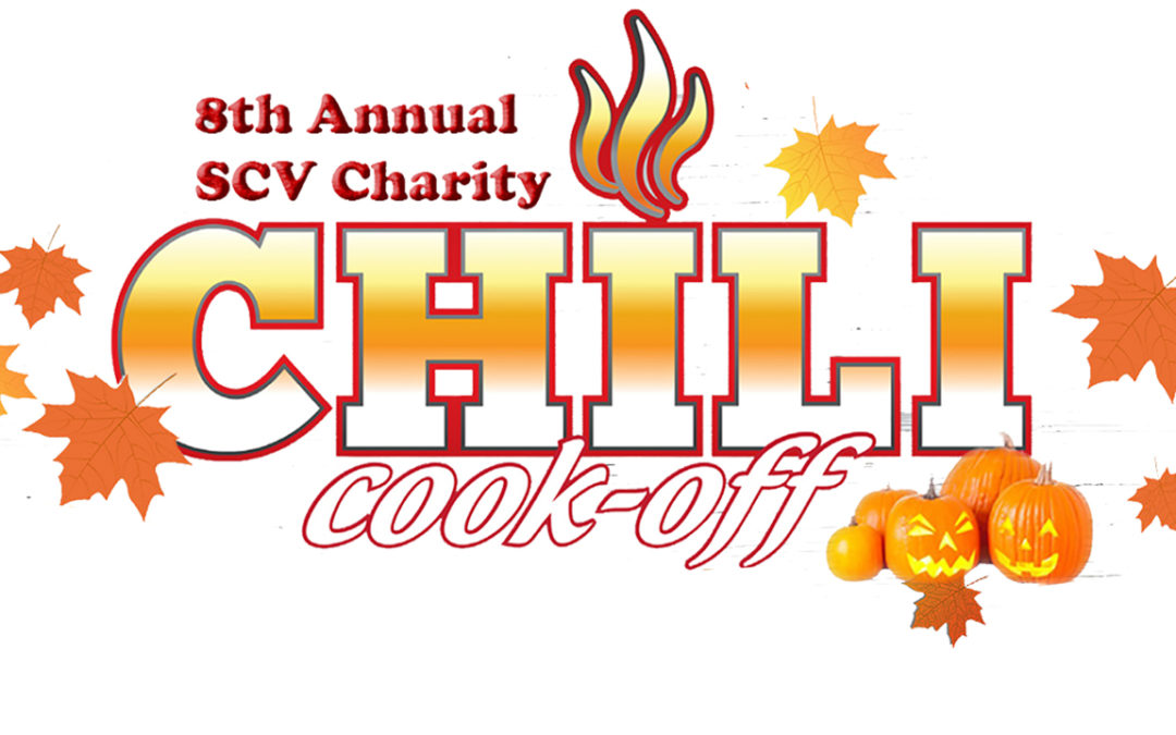 8th Annual SCV Charity Chili Cook-off – October 28, 2021