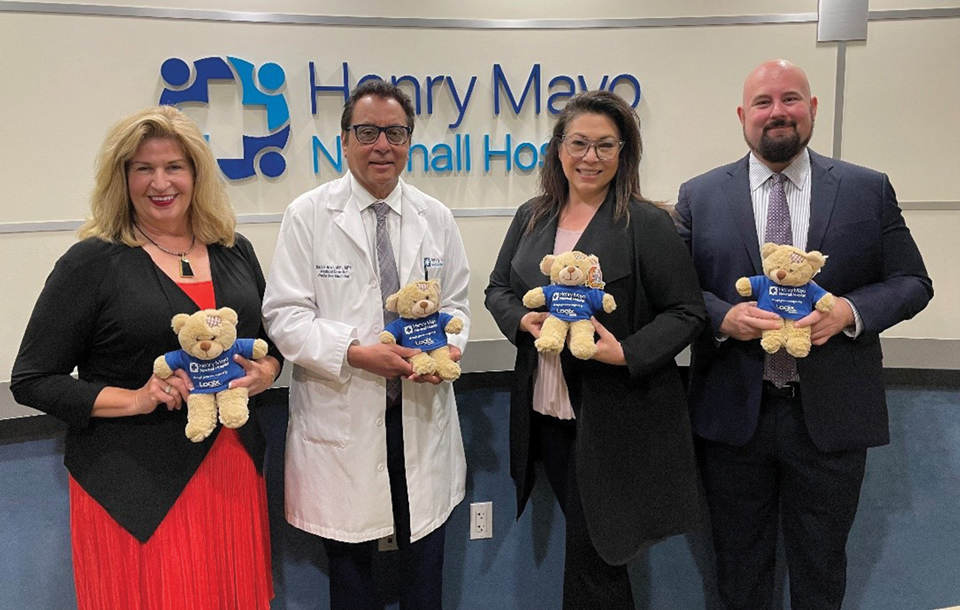 Henry Mayo Hospital and Logix Federal Credit Union Partner in Palliative Care Teddy Bear Program