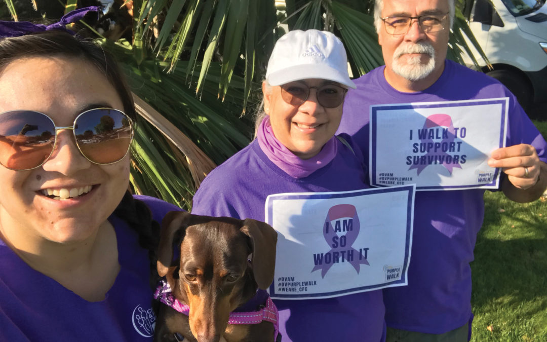 """Time to """"Get Purpled"""" at Purple Palooza 5k Walk to End Domestic Violence"""